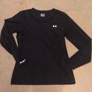 Womens Under Armour Heat Gear Ling Sleeve Shirt